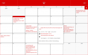 Kampagnenkalender